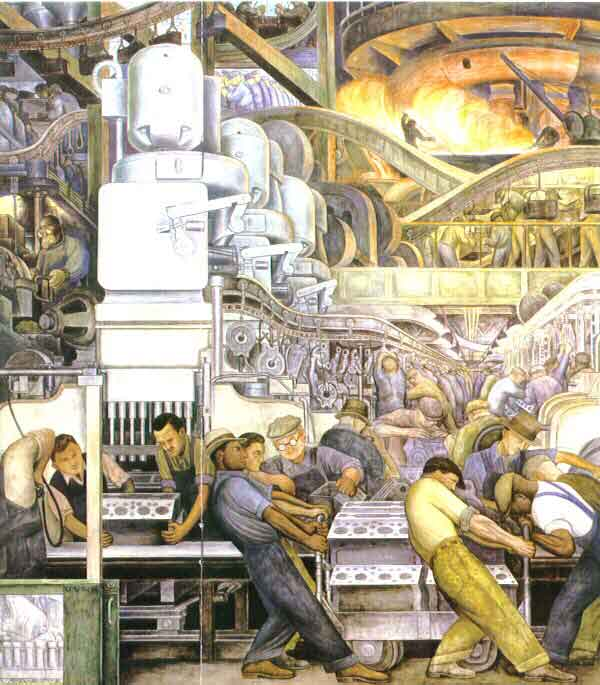 A little good news regarding the detroit institute of art for Diego rivera mural chicago